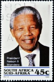 10741303-republic-of-south-africa--circa-1994-a-stamp-printed-in-rsa-shows-nelson-mandela-circa-1994