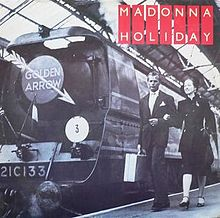 Madonna_Holiday_first_UK_vinyl_cover_art_Golden_Arrow_montage (1)