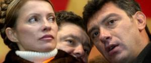 Boris Nemtsov, Petro Poroshenko, Yulia Tymoshenko