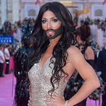 21. Lifeball AIDS HIV Charity Magenta (Red) Carpet, Rathausplatz, Vienna, 25.5.2013, Conchita WURST stars Credit: Viennareport/insight media *** Local Caption ***