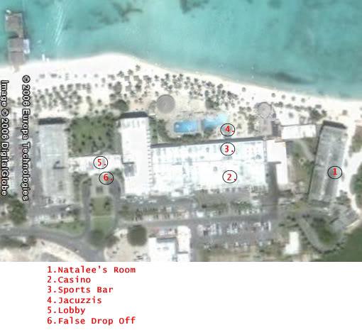 Map hotel Holiday Inn HI-2a