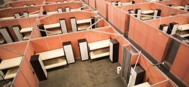 Zeelandhallen gereed voor opvang vluchtelingen