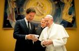 Premier Rutte bezoekt de paus