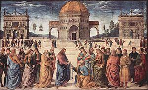 300px-Pietro_Perugino_034 Petrus is rots