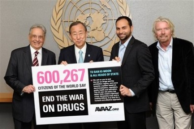Ban Ki-moon, Ricken Patel, Richard Branson, Fernando Henrique Cardoso