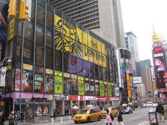 the-lion-king Theatre at 45 and 7 street