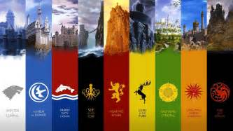 Game of thrones casas