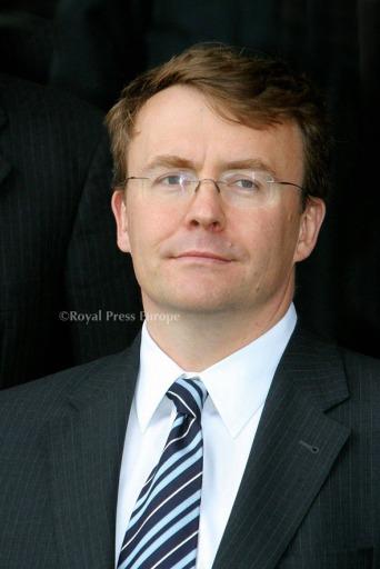 Prinz Johan Friso von Holland der Niederlande beim Molen zoekt vriend in Kinderdijk Jahr 2007 der Windmühlen Portrait / Photo: RPE-Nieboer