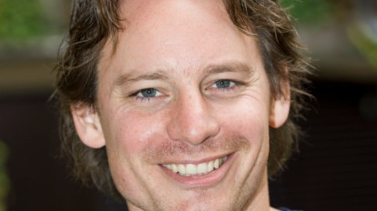 2012-08-31 13:33:42 AMSTERDAM - Acteur Cas Jansen tijdens de Persdag van de film Mees Kees. ANP KIPPA ROBERT VOS