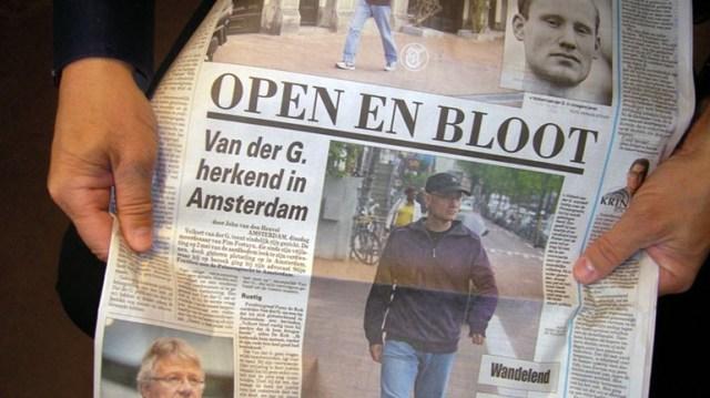 De-foto-van-Volkert-van-der-Graaf-op-pagina-3-van-de-Telegraaf