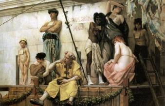 13.06.18.Racisme-en-slavernij-Romeinen-slavenmarkt
