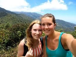 Lisanne Kris op berg