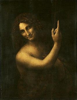 266px-Leonardo_da_Vinci_-_Saint_John_the_Baptist_C2RMF_retouched