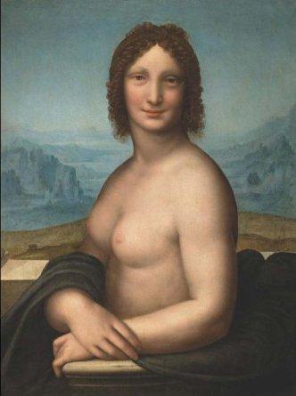 Monna_Vanna door Salai raar als betaalde opdracht Mona Lisa