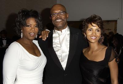 Oprah Samuel L Jackson en Hale Berry